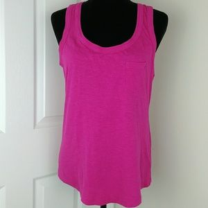 Banana Republic hot pink tank top